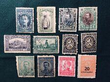 Lot timbres anciens oblitérés - principauté et royaume de Bulgarie