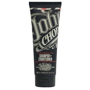 Johnny's Chop Shop Hair & Beard 2-in1 Shampoo + Conditioner 250ml UK STOCKIST