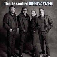 THE HIGHWAYMEN Essential 2CD NEW Johnny Cash Willie Nelson Kris Kristofferson