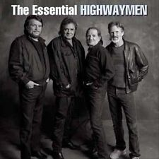 THE HIGHWAYMEN Essential 2CD NEW Johnny Cash Willie Nelson Kris Kristofferson