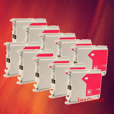 10 LC51 MAGENTA INK FOR BROTHER DCP-130C 330C 350C