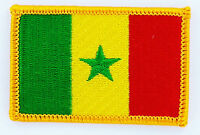 SENEGAL SENEGALESE FLAG PATCHES backpack  PATCH BADGE IRON ON NEW EMBROIDERED