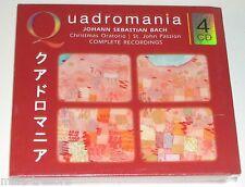 Coffret 4 CD : Johann Sebastian BACH - CHRISTMAS ORATORIO - QUADROMANIA