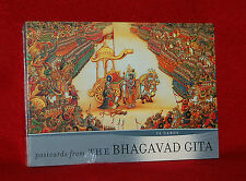 POSTCARDS FROM THE BHAGAVAD GITA - A BOOK OF 32 POSTCARDS - NEW - HINDUISM