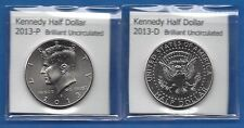 Kennedy Half Dollars: 2013-P and 2013-D from Mint Rolls