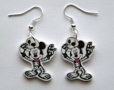 New Halloween Disney Mickey Mouse Skeleton Earrings