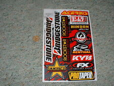 Decals / stickers R/C radio controlled Renthal Bridgestone Hinson FX  etc  G65