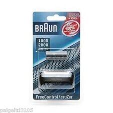 BRAUN 1000/2000 SERIES 10B/20B FREECONTROL/CRUZER  FOIL & CUTTER