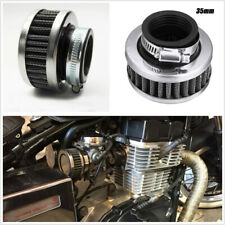 Motorcycle ATV Scooter Metal & Rubber 35mm Air Cleaner Intake Filter with Clamp