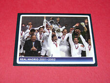 382 REAL MADRID 2001-2002 UEFA PANINI FOOTBALL CHAMPIONS LEAGUE 2006 2007