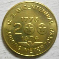 Bicentennial Sample parking token - PTSA3010A