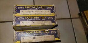 HOT ROD LOT OF 3 NOS HYGRADE CARBURETOR KITS CHEVROLET W1 CARBURETOR 216 3X1 235