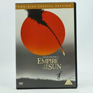Empire Of The Sun DVD 2006 2-Disc Set Christian Bale John Malkovich VGC R2