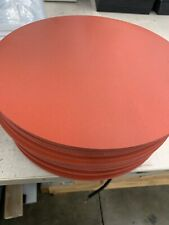 """SILICONE RUBBER ROUND GASKET 14 1/8"""" X 1/4"""""""