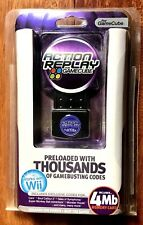 GAMECUBE ACTION REPLAY INCLUDES 4 MB MEMORY EUROPE PAL BRAND NEW  FACTORY SEALED