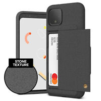 For Google Pixel 4 / 4 XL VRS® [Damda Glide Shield] Card Wallet Shockproof Cover