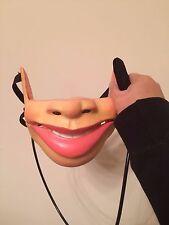 Ventriloquist Human Puppet Half Mask