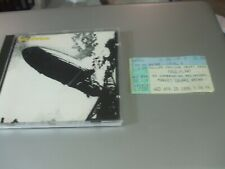 Led Zeppelin by Led Zeppelin (CD, 2008) & Original 1995 Indy Concert Ticket Stub