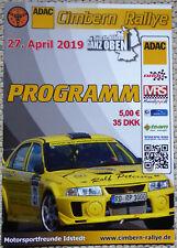 ADAC CIMBERN Rallye 2019 Programmheft | Dänische Rallyemeisterschaft