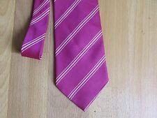 Pink Striped Tie by Valeria Boldi Milano Italy