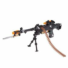 NEW TOY KIDS MILITARY ASSAULT MACHINE GUNS WITH SOUND FLASHING LIGHTS GIFT SH