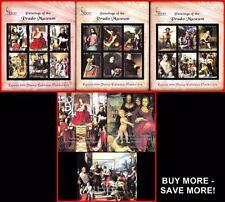 PRADO MUSEUM PAINTING COLLECTION - 60 S/S-M/S ** MNH neuf CV$340.00 FREE S/H USA