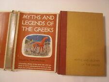 Myths and Legends of the Greeks, Nicola Sisons, DJ, Hart Publishing, 1960