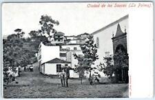 LA PALMA, SPAIN    Gran Canaria  CIUDAD de los SAUCES   ca 1900s    Postcard
