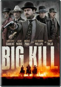 Big Kill (DVD, 2019) Widescreen Option Movie Same Day Shipping