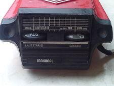 "Vecchia bicicletta RADIO MW/VHF Oldtimer"" 1968"""
