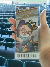 NEW ORLEANS BABY CAKES INAUGURAL FIRST GAME EVER PLAYED COLLECTIBLE TICKET