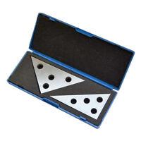 Angle Block Set 30-60-90 & 45-45-90 Precision Machinist Tool 2Piece/ Set