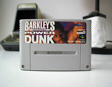 BARKLEY'S POWER DUNK | SUPER FAMICOM | JAPAN | AUS STORE | FREE POST