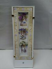 """03 Novelty Glass Frame Saying ~ """"A Mother's Love Is What Makes A House A Home"""""""