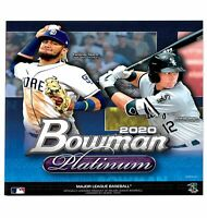 Topps ITM0004614 Bowman 2020 Platinum MLB Baseball Trading Cards Monster Box, 23