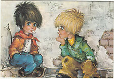 Vintage 1970's Happy Birthday Greeting Card - The Dropouts by Michel Thomas Art
