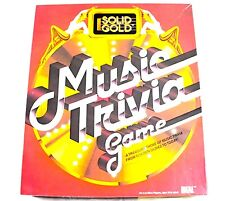 Vintage 1984 Solid Gold Music Trivia Game