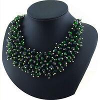 Damenkette Hals Kette Spikekette Halskette Statementkette Vintage Necklace O2520