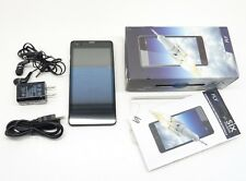 "SIX MOBILE FLY Smartphone OPEN BOX AS IS LOCKED Android 5"" 8GB BLACK UA2-3/25"