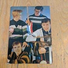More details for 1960s the shadows french columbia records postcard size pop hank marvin
