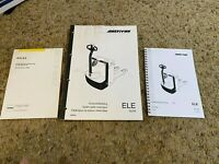 Multiton Spare Parts Catalogue ELE35/45 and Operating Instructions