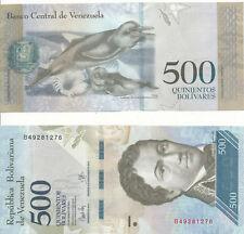 Venezuela - 500 Bolivares 23. 3. 2017 aUNC - Pick New, new date