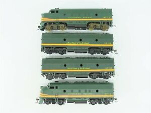 HO Scale Athearn NP Northern Pacific F7 A-B-B-A Diesel Locomotive Set
