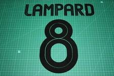 Chelsea 04/06 #8 LAMPARD UEFA Chaimpons League AwayKit Nameset Printing