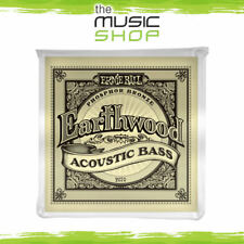New Set Ernie Ball 2070 Earthwood Acoustic Bass Guitar Strings - Phosphor Bronze