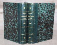 Ampère / L'Histoire romaine a rome en 2 tomes reliés (E-O, 1862)