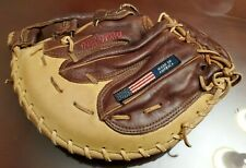 "Nokona 12.5"" Right Hand Thrower AMGFB Top Grain Leather 1st Base mitt"