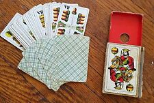 Antique Piatnik Mid 20th Century Hungarian Playing Cards Wilhelm Tell Deck