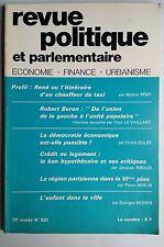 Revue Politique et Parlementaire 5/1971; CRédit au logement; le bon hypothécaire