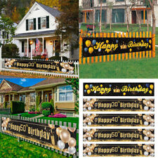 Happy Birthday Banner Anniversary Party Decoration Birthday Party Supplies Us